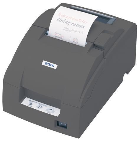 EPSON TMU220B USB A/CUT BLK PSU INC IEC/USB CABLE