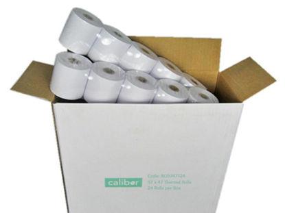 CALIBOR THERMAL PAPER 57X47 24 ROLLS / BOX