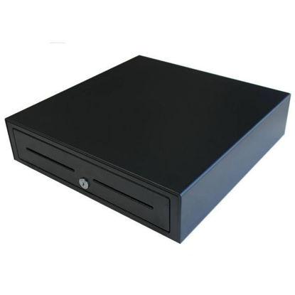 Element EC410 Cash Drawer, 5 Note/8 Coin Slots, 24V Solenoid, Black