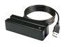 Element Magnetic Stripe Reader, Standalone Track 1/2/3, USB, Black