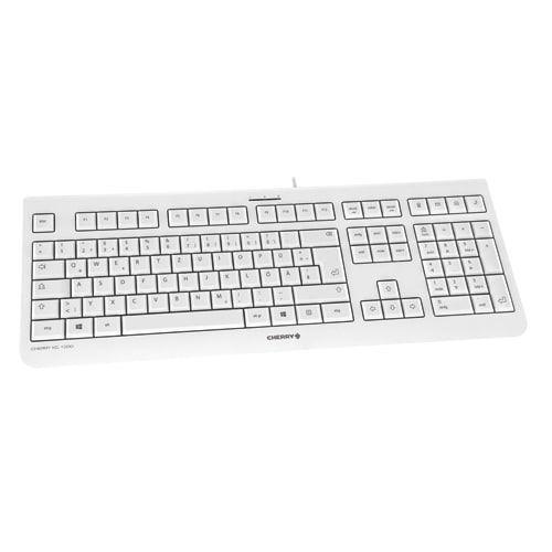 CHERRY KC-1000 allround PC Keyboard Light Grey
